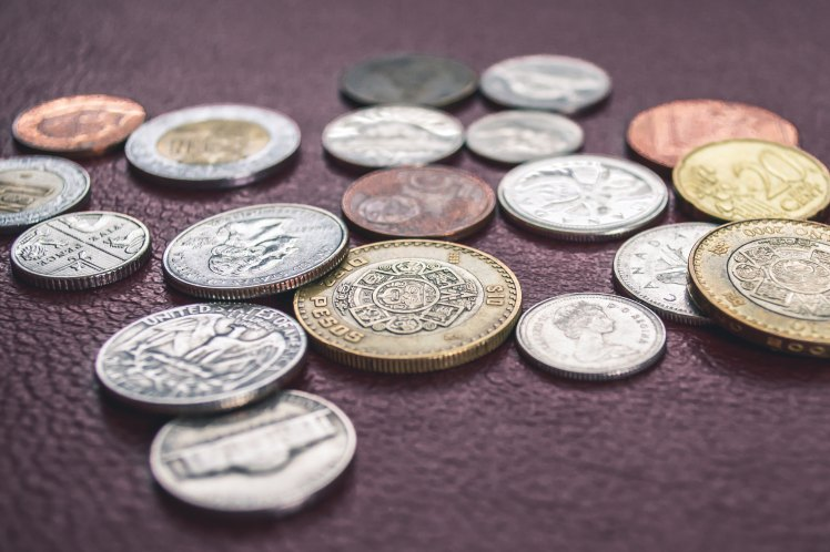 coins of different currency